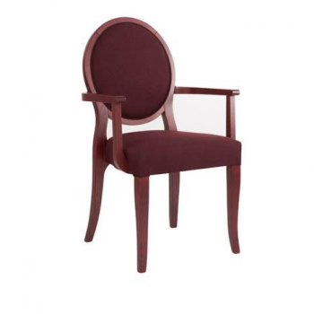 EDITION  A-ROUND PO01 Arm Chair
