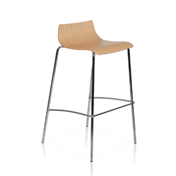 Brillhart 4 Legged Bar Stool