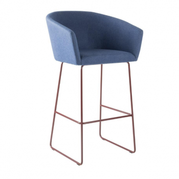 Veron Sled Bar Stool
