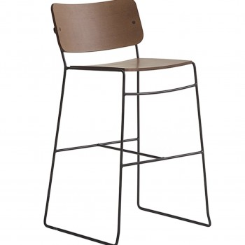 Key Plywood Bar Stool